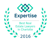 Expertise Award - Best Real Estate Lawyers in Charlotte